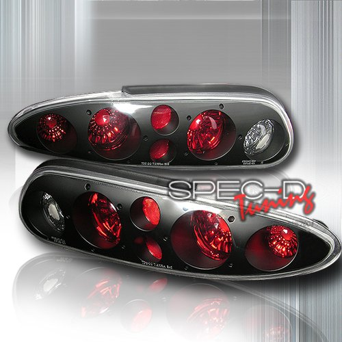 Spec-D Tuning Chevrolet Camaro 1993 1994 1995 1996 1997 1998 1999 2000 2001 2002 Altezza Tail Lights - Black