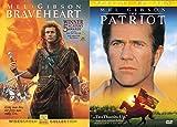 Mel Gibson Epic Double Feature - Braveheart & The Patriot 2-DVD Bundle