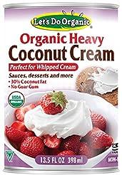 Let's Do Organic Heavy Coconut Cream, 13...