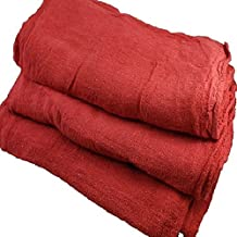 1000 NEW RED SHOP TOWELS GA TOWELS RAGS BRAND MECHANICS INDUSTRIAL GRADE …