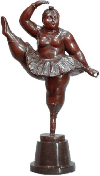 figura bailarina bronce