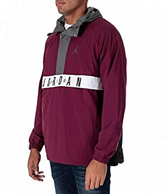 f7517dadd7fa15 Image Unavailable. Image not available for. Color  NIKE Mens Air Jordan  Anorak Wings Jacket ...