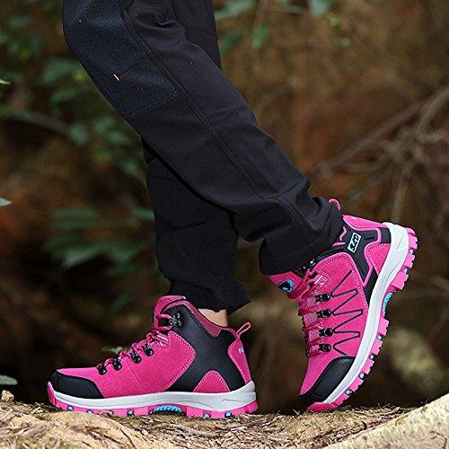 Walking Shoes Outdoor snfgoij Fashion Waterproof Shoes Sports Shoes Ladies Casual Hiking Pink Shoes Hiking Women w8xq0X8O