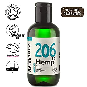 Naissance Organic Cold Pressed Virgin Hemp Seed Oi...