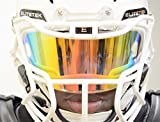 EliteTek Color Football & Lacrosse Eye-Shield Facemask Visor - Fits Youth & Adult Helmets