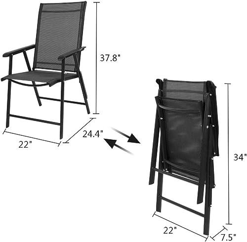 VINGLI Upgraded Folding Chair