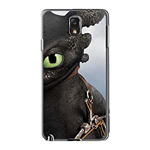 Shock Absorption Cell-phone Hard Covers For Samsung Galaxy Note3 With Support Your Personal Customized Vivid How To Train Your Dragon Pattern IanJoeyPatricia