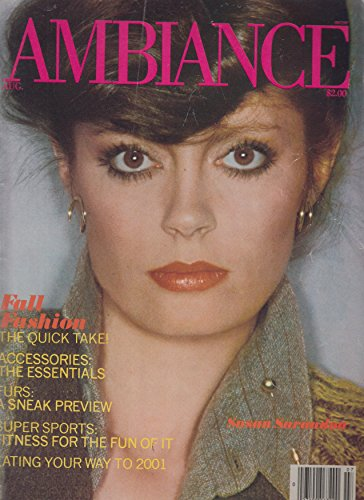 Ambiance Single - Ambiance Magazine August 1978 Susan Sarandon cover