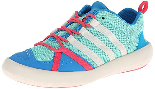 adidas Sport Performance Kid's Boat Lace Up K Sneakers,Turquoise,11K M Little Kid