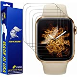 [6 Pack] ArmorSuit MilitaryShield Screen Protector for Apple Watch Series 5/ Series 4 (40mm) [Max Coverage] - Anti-Bubble HD Clear Film