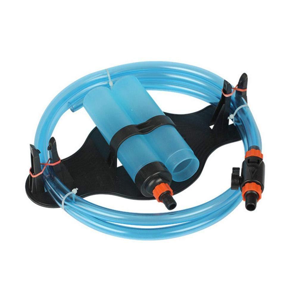 Aspirador para acuario para tanque de peces, limpiador de peces, sifó n, cambiador de agua sifón cuckoo-X