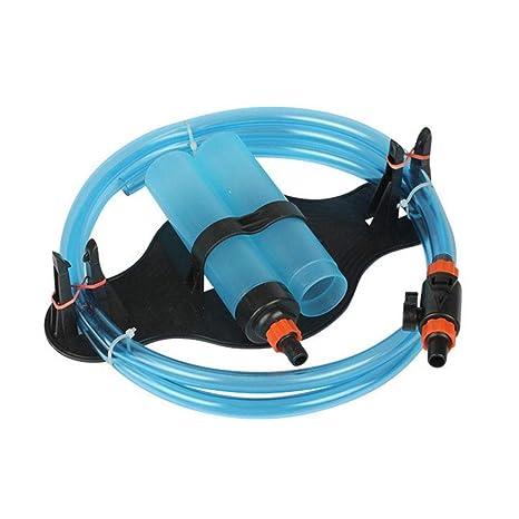 Aspirador para acuario para tanque de peces, limpiador de peces, sifón, cambiador de