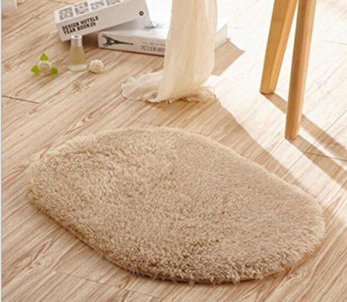 Non-Slip Pet Dog Blanket for Living Room Bedroom Bathroom Kitchen Lamb Pet Cushion(40  60,Lightbrown) Outside