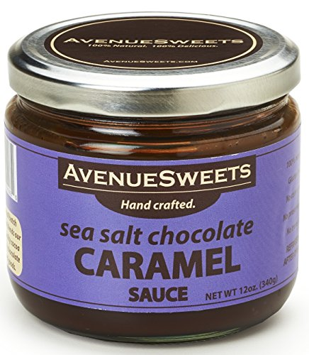 AvenueSweets Salted Caramel Sauce Coffee Flavoring Syrup Toppings 12oz - Espresso Latte Sauce and Dripping Dipping Caramel Sauce (1 (Coconut Dipping Sauce)