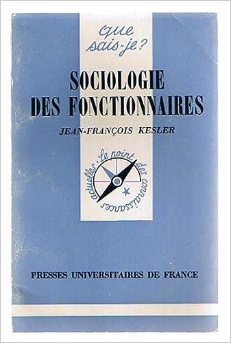 Livres Sociologie des fonctionnaires pdf ebook