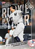 #6: 2017 Topps Now Baseball #OS-64 Aaron Judge Rookie Card - Wins AL Rookie of the Year Award - Only 5,909 made!
