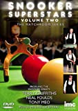 Snooker Superstars - The Matchroom Series - Vol 2 Featuring Terry Griffiths, Neal Foulds & Tony Meo [DVD]
