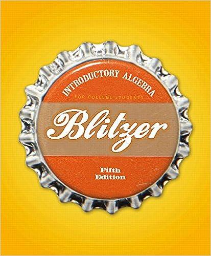 Blitzer, algebra and trigonometry, 5th edition   pearson.