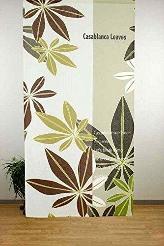 narumi narumikk noren(Japanese curtain) Casablanca Leaf 10084 from Japan