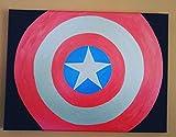 Capitan America Shield Painting
