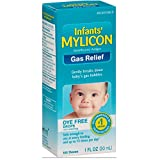 Mylicon Infant Drops Anti-gas Relief Dye Free Formula, 1.0 Fluid Ounce Per Bottle (10 Pack)