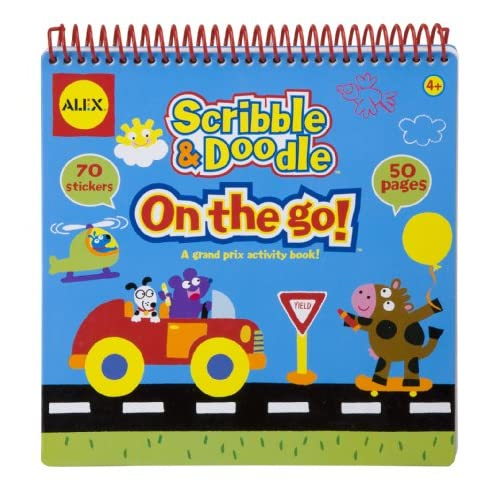New ALEX Toys Artist Studio Scribble and Doodle - On The Go