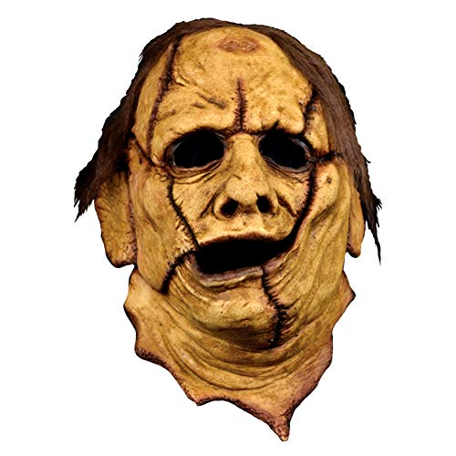 Adult Texas Chainsaw Massacre Leatherface 3/4 Mask - ST - Texas Chainsaw Massacre Halloween Masks