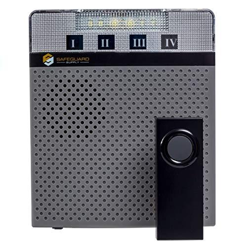 Wireless Doorbell - Long Range Wireless Doorbell 1000' Range - Wireless Doorbell System with Flashing Light for The Hearing Impaired