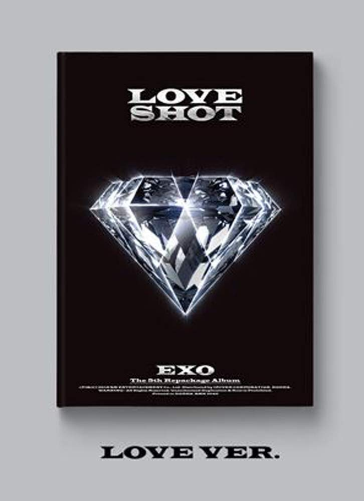 EXO The 5th Album Repackage 'Love Shot' | Product US Amazon