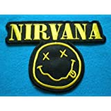 NIRVANA Vintage Punk Band patch Iron on Sew Applique Embroidered Emblem Ecusson brode patche Patches