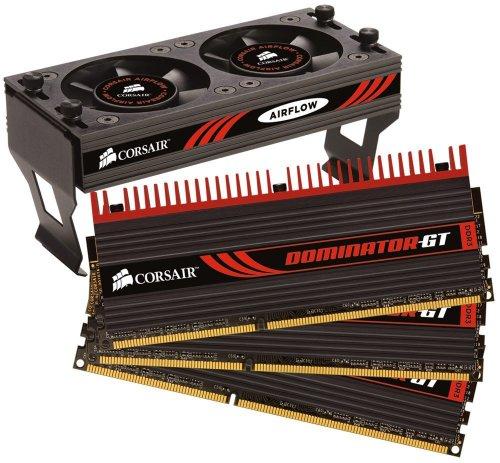 - Corsair Dominator GT 6 GB PC3-12800 1600 Mhz Triple Channel Core i7 DDR3 CAS 7 Memory Kit CMT6GX3M3A1600C7