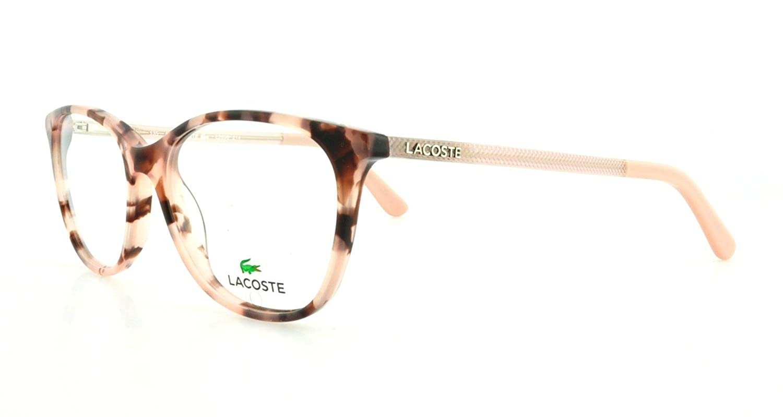 29fac341ac2 LACOSTE Eyeglasses L2690 214 Rose Havana 53MM  Amazon.co.uk  Clothing