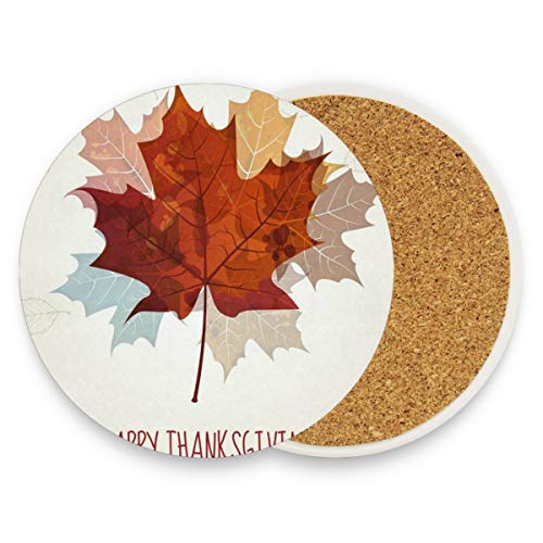 Maple Leaves Coasters, Prevent Furniture From Dirty And