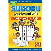 Sudoku pour les enfants 4x4 - 6x6 - 9x9 | 180 sudoku | Niveau: très facile | avec des solutions