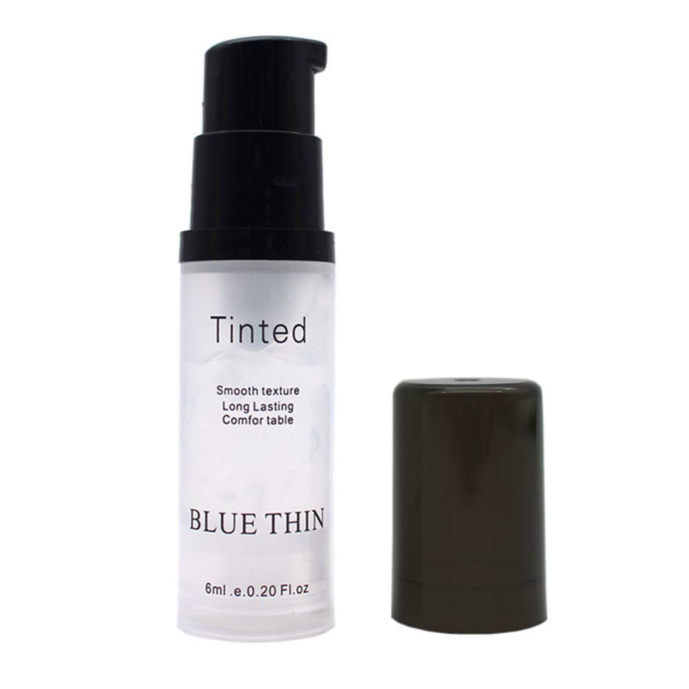 Fullfun BLUETHIN Natural Blur Primer Soft Smooth Gel Textures Long Lasting Tinted Foundation Makeup