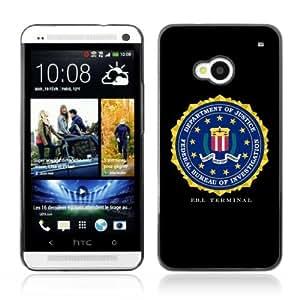 YOYOSHOP [FBI Terminal] HTC One M7 Case by icecream design