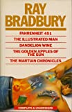 Image of Fahrenheit 451 - The Illustrated Man - Dandelion Wine - The Golden Apples of the Sun & the Martian Chronicles