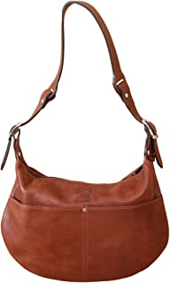 product image for Col. Littleton Ladies Leather No.25 Drifter Hobo Handbag | Made in USA