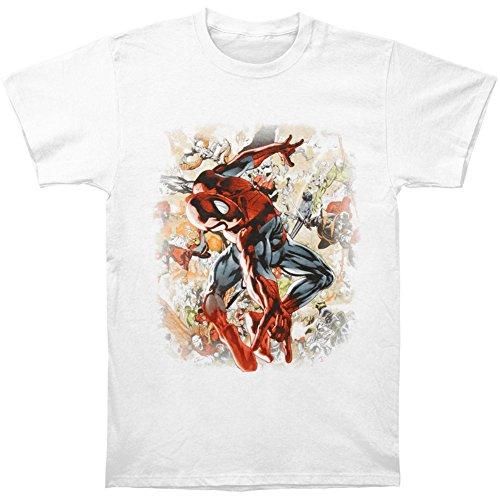 Spiderman Twisted Torso T-Shirt- XLarge
