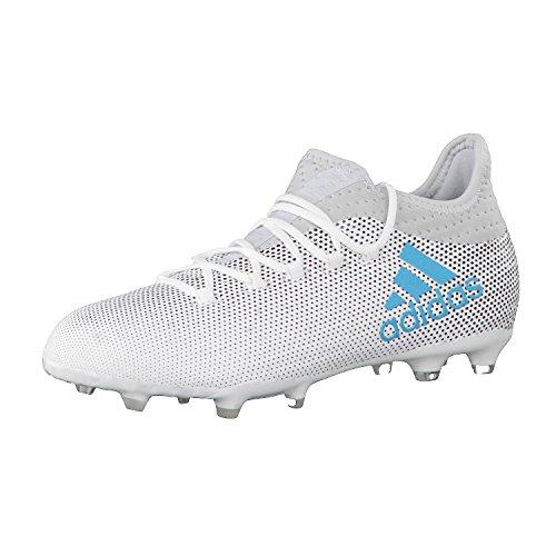 adidas X 17.1 Fg J, Botas de Fútbol Unisex Niños Blanco (Ftwbla/Azuene/Gritra)