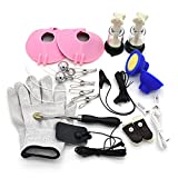 Classic Couples SM Game Electric Shock Pulse Accessories A Set of 11 Pcs