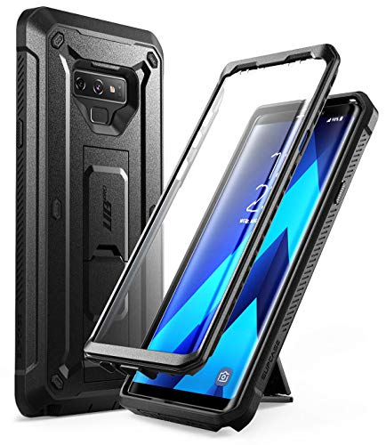 Samsung Galaxy Note 9 Case, SUPCASE Full-Body Rugged Holster Case Built-in Screen Protector & Kickstand Galaxy Note 9 (2018 Release), Unicorn Beetle Pro Series - Retail Package (Black)
