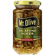 MT. OLIVE Jalapeno Slices Jar, Fresh Pack, 12 oz