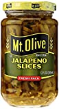 MT. OLIVE Jalapeno Slices Jar, Fresh Pack, 12 oz