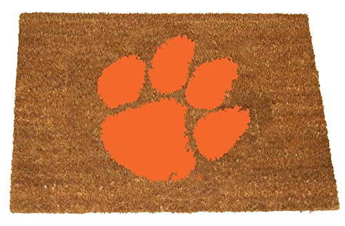 The Memory Company NCAA Clemson University Colored Logo Door Mat, One Size, Multicolor