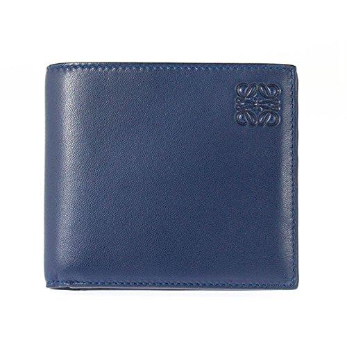 (ロエベ) LOEWE メンズ 二つ折り財布 NAPPA BIFOLD/COIN WALLET ネイビー/オーシャンブルー 109 80 501 5925 NAVY/OCEAN [並行輸入品] B075XF5W1Y
