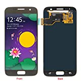 HJSDtech LCD Display Screen Touch Screen Digitizer Assembly Replacement for Samsung Galaxy S7 SM-G930 (Gold)