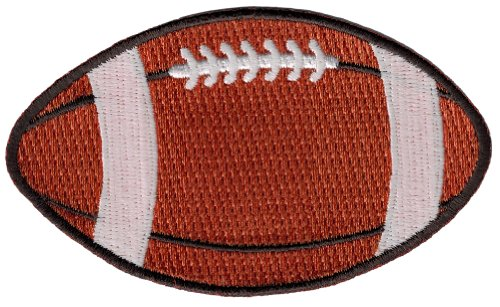 Football-Embroidered-Patch-Gridiron-Pigskin-Ball-Iron-On-Applique-Sports-Emblem