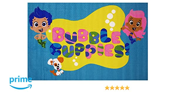 Amazon.com: Fun Rugs Bubble Guppies Area Rug, 39 x 58\