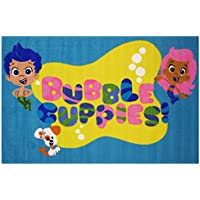 Fun Rugs Bubble Guppies BG-41 3958 39 by 58 Inch Medium Pile Childrens Area Rug